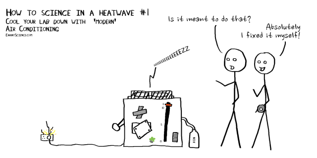 5 ways to keep doing science in a heatwave