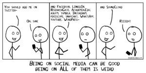 Should all researchers be on social media?