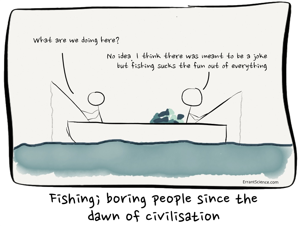 Boring fishing