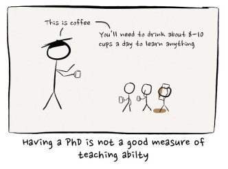 Coffee teaching