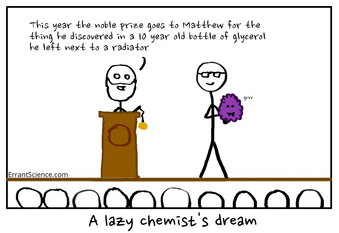 Lazy chemist's dream