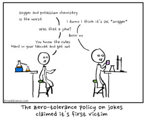 Should we let science be funny?