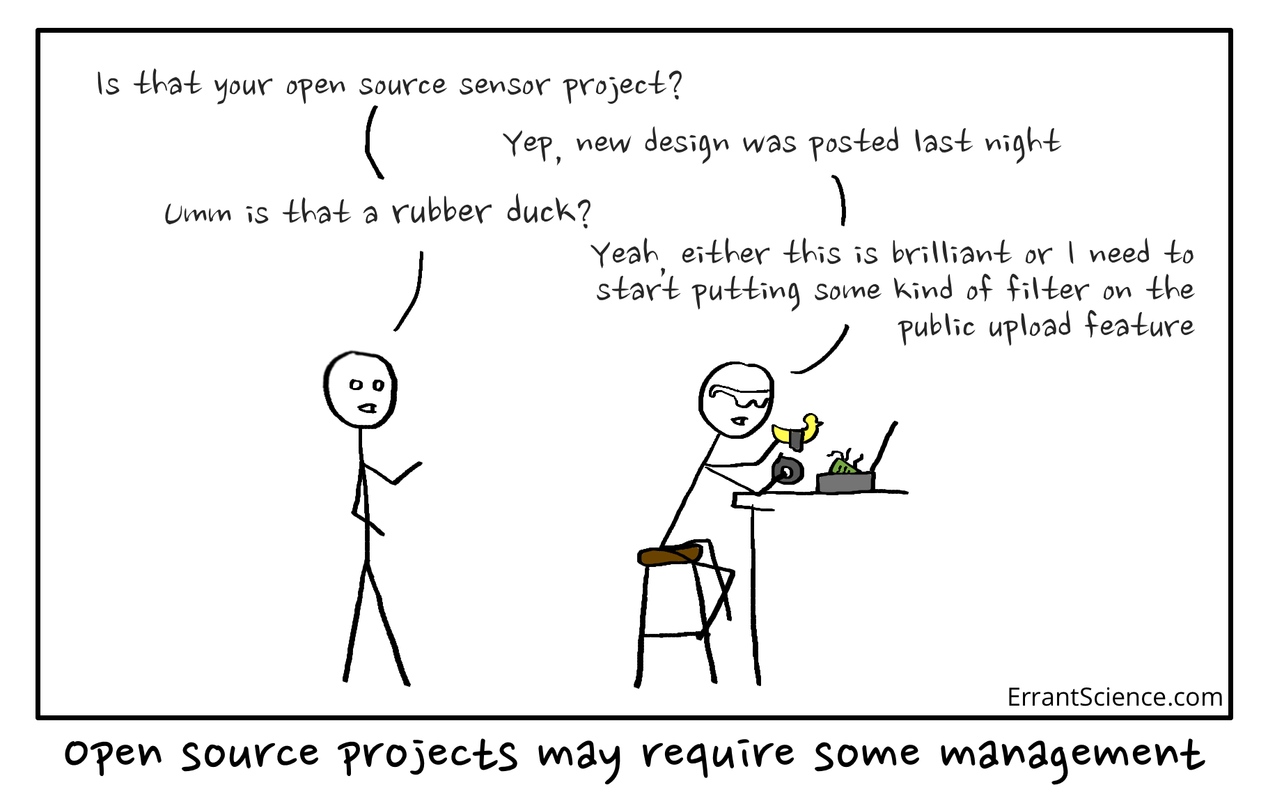 Open source rubber ducks