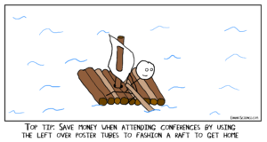 Diary of a conference attendee – day five, hungover and home