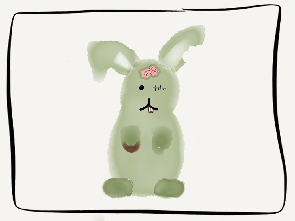 Fact: Zombie bunnies are real!