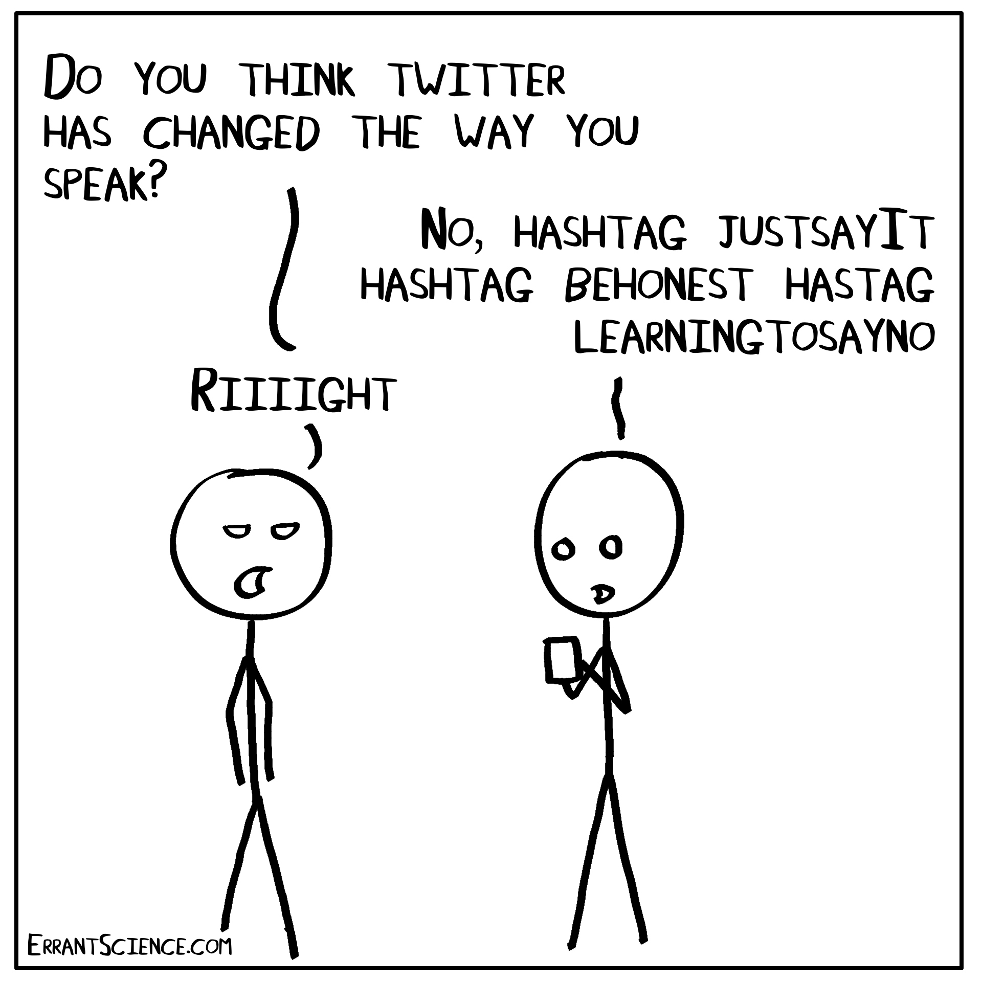 Science Twitter: The Weird, The Brief and… the Answer? – ErrantScience