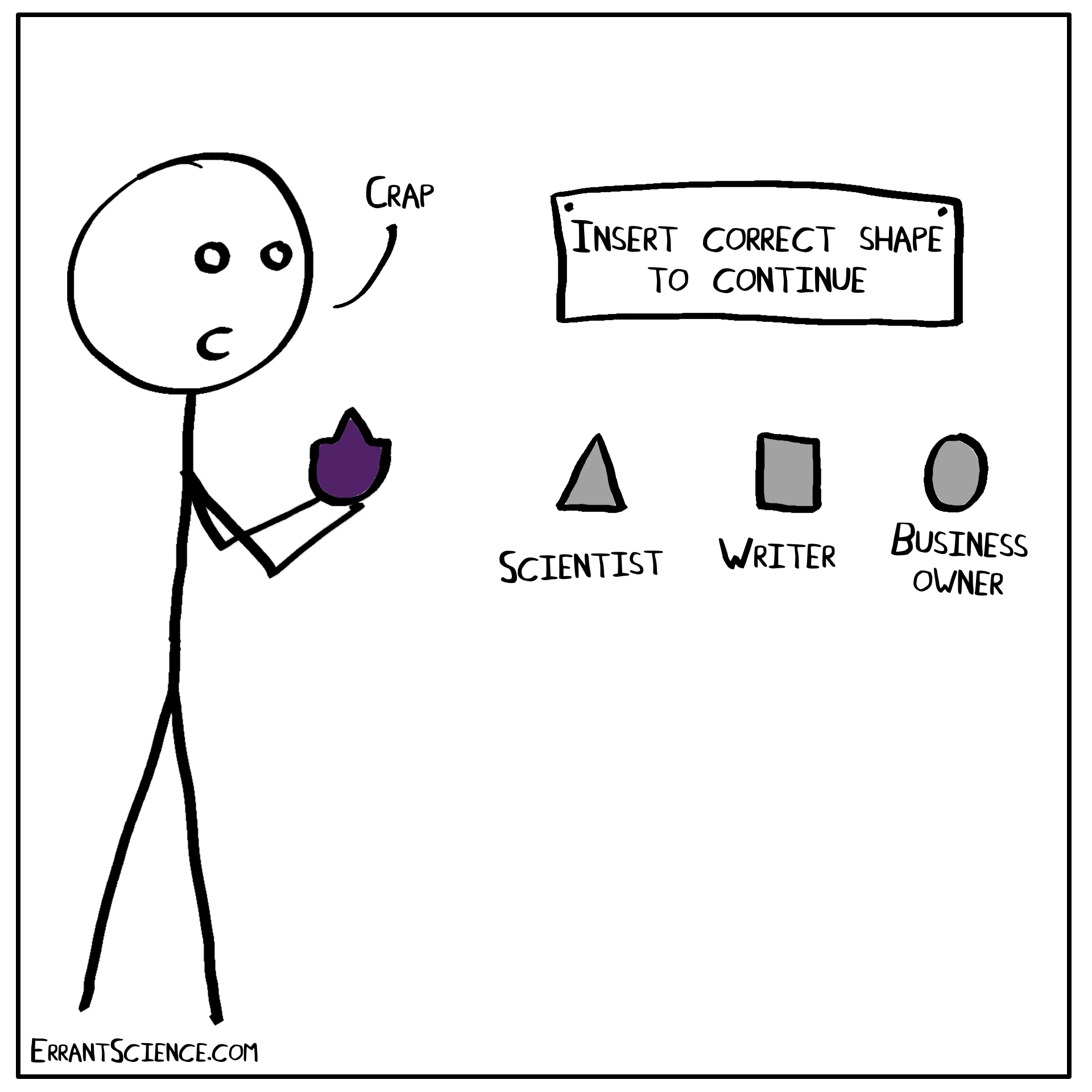 Am I still a scientist? Imposter syndrome post-PhD – ErrantScience